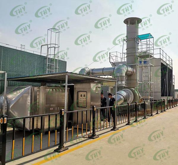 亿纬锂能废气处理工程1