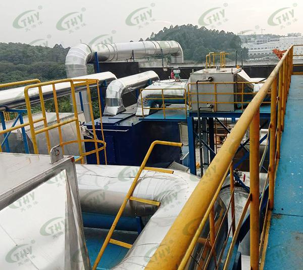 瀚蓝(佛山)工业环境服务有限公司危险废物废气治理工程4
