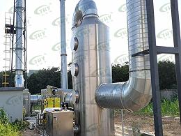 孚能科技公司锂电池实验室废气处理工程