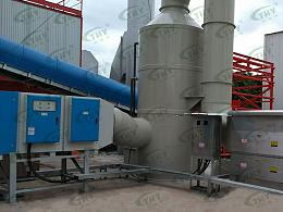 廊坊德基机械科技有限公司沥青废气处理工程