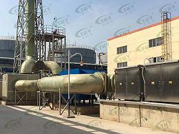 山东齐鲁石化工程有限公司有机废气处理工程