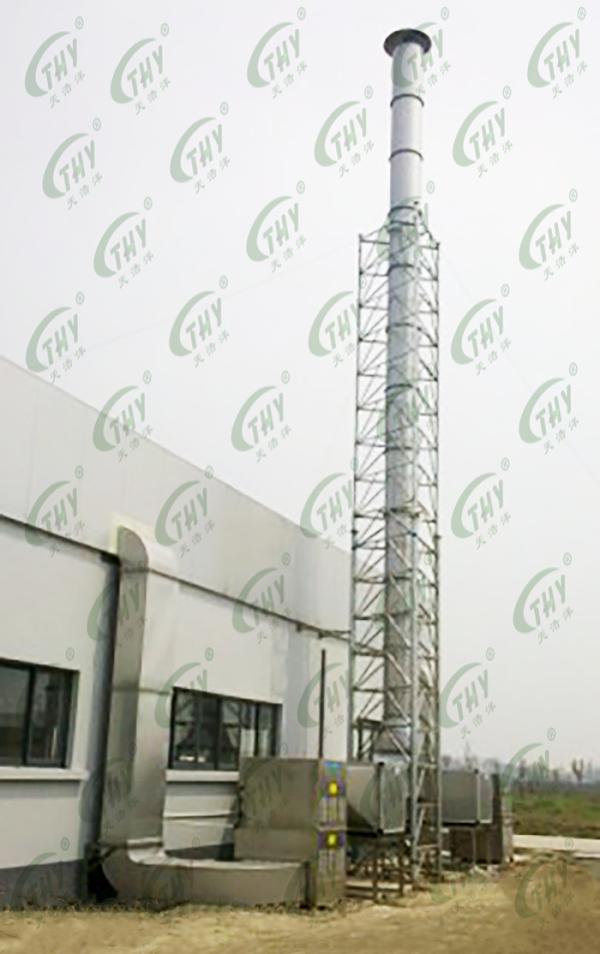 上海福润肉类加工有限公司(雨润集团)屠宰场恶臭气体处理工程2