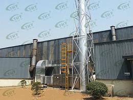 南京巨龙钢管有限公司喷漆废气净化工程