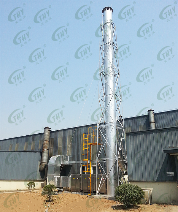 南京巨龙钢管有限公司喷漆废气处理工程2