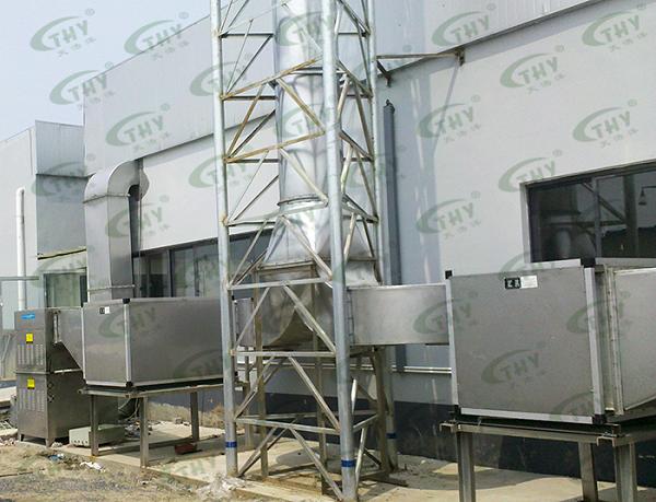 上海福润肉类加工有限公司(雨润集团)屠宰场恶臭气体处理工程1
