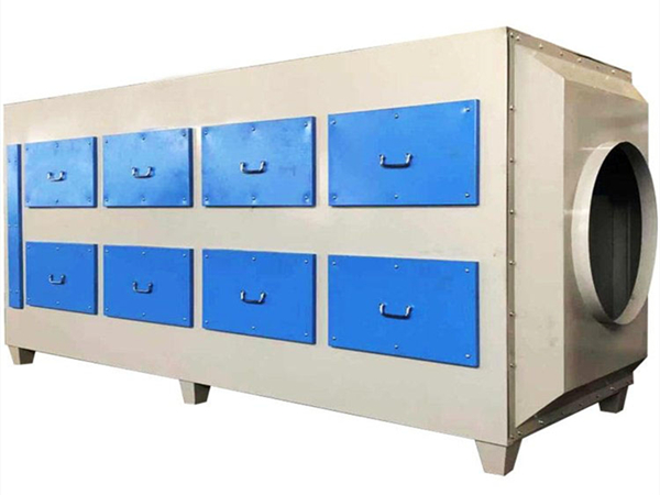 活性炭吸附箱处理有机废气方法