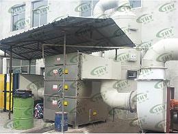 南京发尔士化工有限公司猪下水炼油产生的恶臭气体处理工程