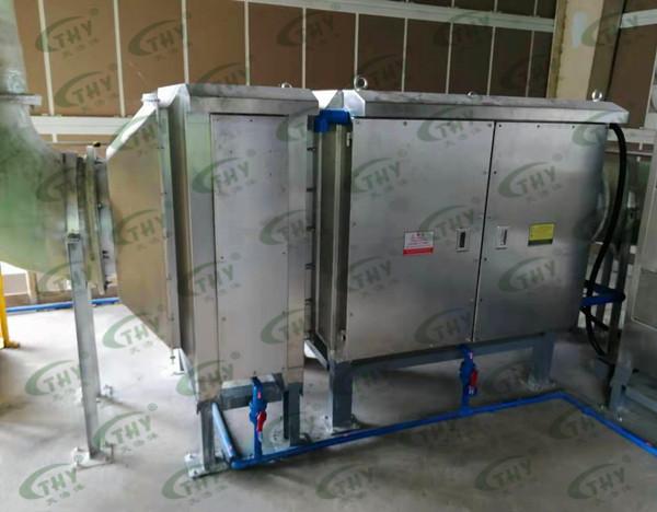 东风日产污水站除臭工程1